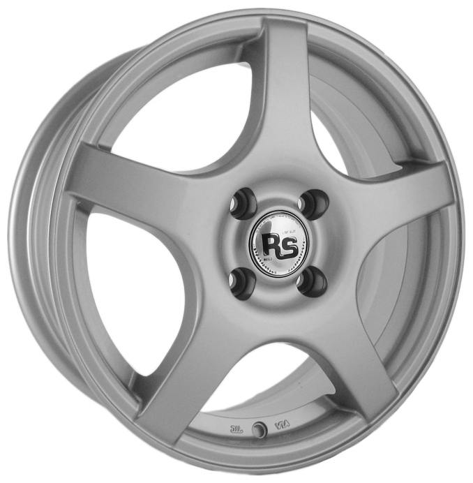 RS Wheels 147 6x15 4x100 ET45 DIA60.1 серебристый